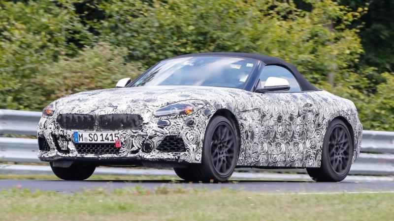 會是新一代「Z4」嗎?BMW 釋出新車剪影