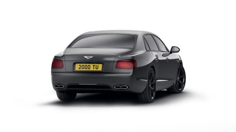 黑色更沈穩,『4.0L 雙渦輪 V8」四門豪華跑房