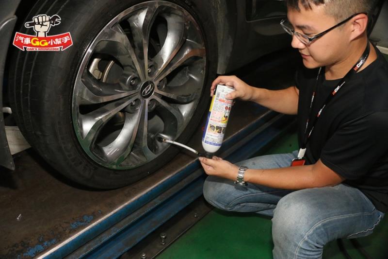 「輪胎緊急狀況」自動充氣「補胎劑」使用訣竅看這裡!