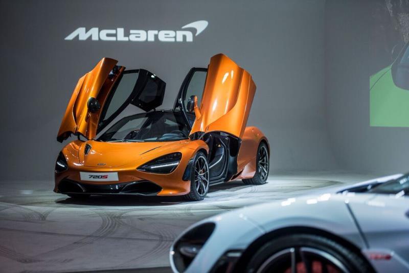 McLaren Super Series 720S  1580萬起 正式登台