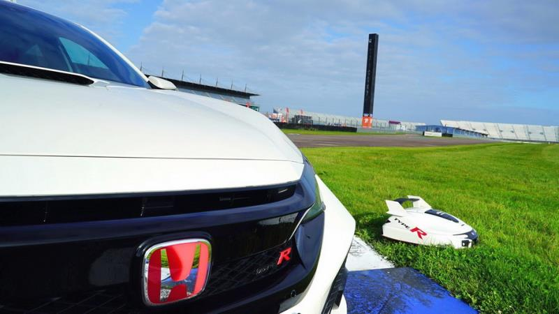 Honda Miimo除草機器人 CBR1000RR與Civic Type R對決