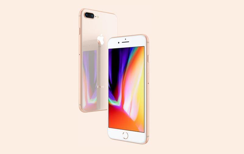 Apple台北101直營店22日8時首次開賣iPhone新機,比平常週五營業時間提早3小時。圖為iPhone8手機。(圖取自蘋果官網www.apple.com)