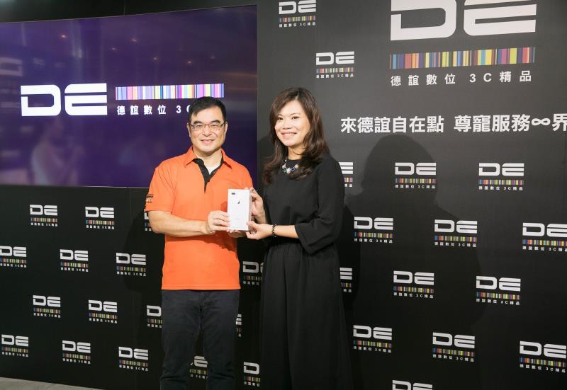 德誼數位 總經理杜偉昱 提供VIP貴賓一對一禮遇交機服務