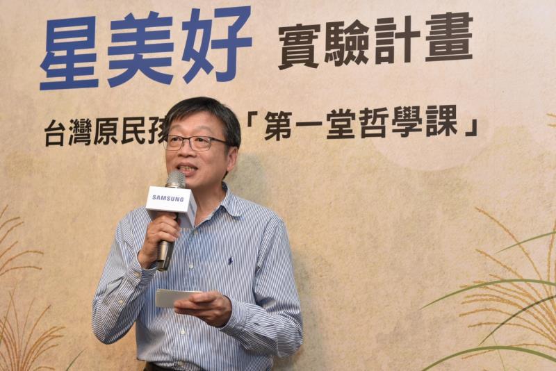 台灣三星電子商用產品暨解決方案事業部總經理吳昇奇表示,硬體完備後,慢慢發現其實他們更缺乏的是培育師資,跟開發適地適時的教材。