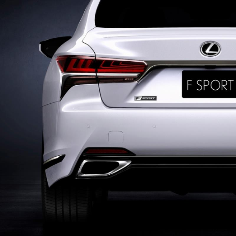 Lexus新豪華性能旗艦 LS F有望現身東京車展