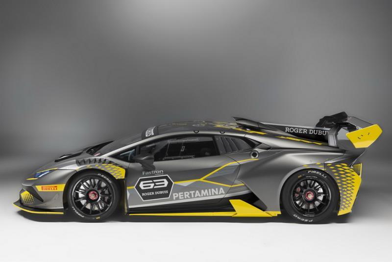 Lamborghini Huracan Super Trofeo EVO最速統規賽車現身