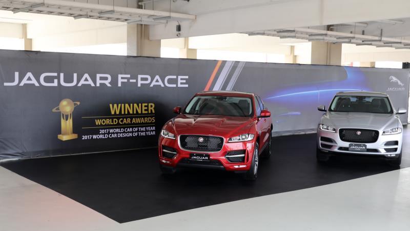 JAGUAR F-PACE 全新 18 年式 249 萬元起正式登台