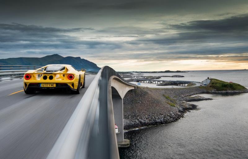 Ford GT跨足挪威立志寫下最速單圈