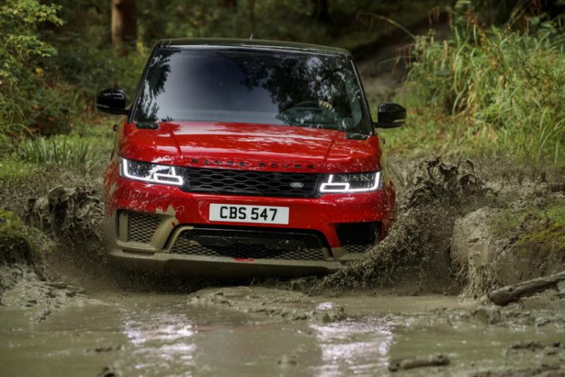 高性能Plug-in Hybrid公開 Land Rover Range Rover Sport小改款