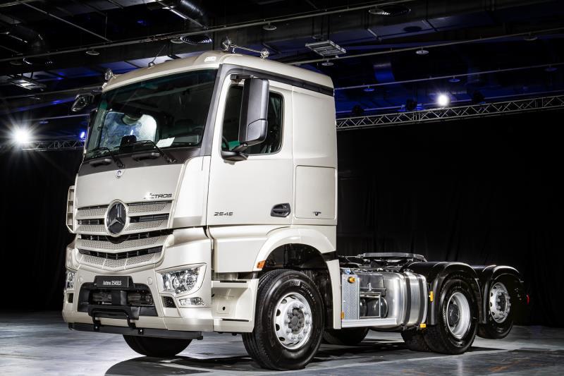 The new Actros 發表,宣告重車智能駕駛世代正式來臨。