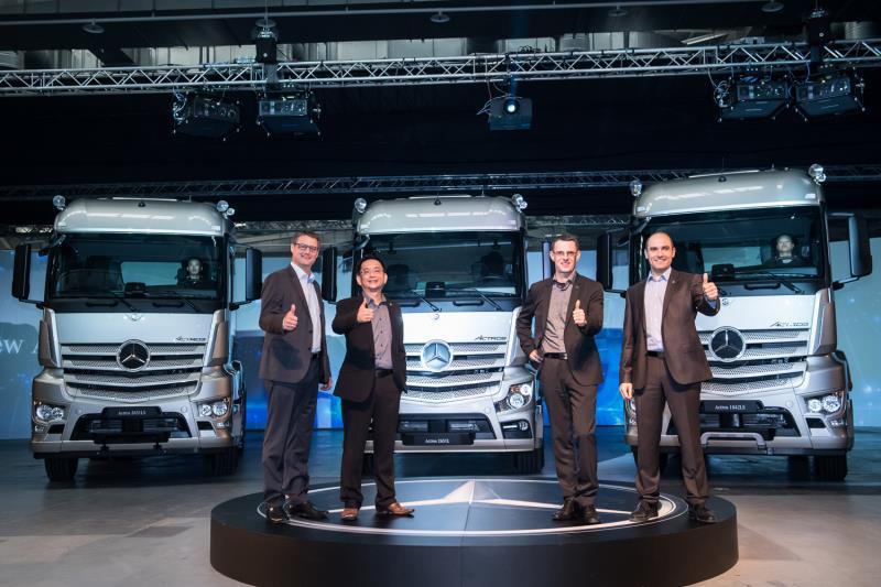 開創重車新思維Mercedes-Benz The new Actros正式登台