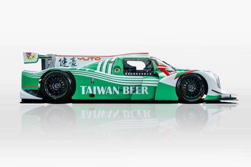台灣啤酒攜手健豪利曼賽車隊挑戰  亞洲利曼系列賽