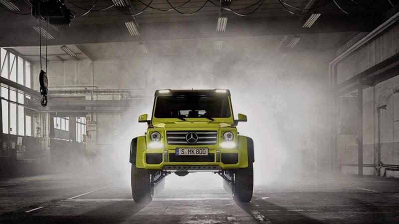 Mercedes-Benz G500 4×4² 10月底停產