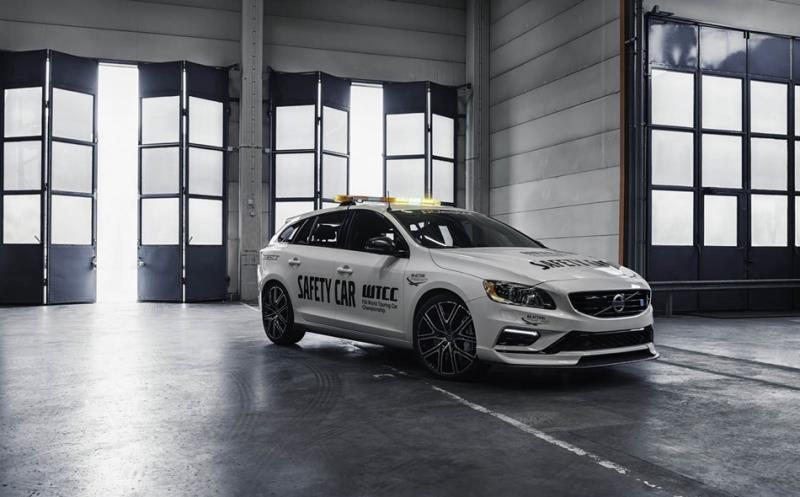 Volvo V60 Polestar WTCC Safety Car空力再進化
