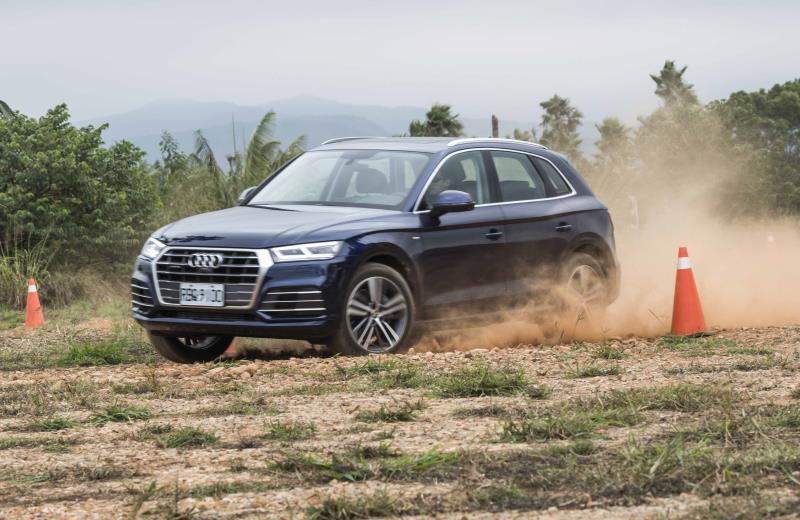 初期「Audi Driving Experience Center奧迪駕馭體驗中心」僅有越野體驗場地。