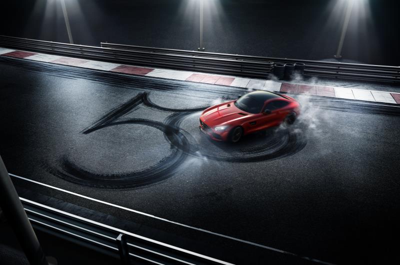 歡慶Mercedes-AMG 50週年,中華賓士將在12月7日假松菸舉辦特展。