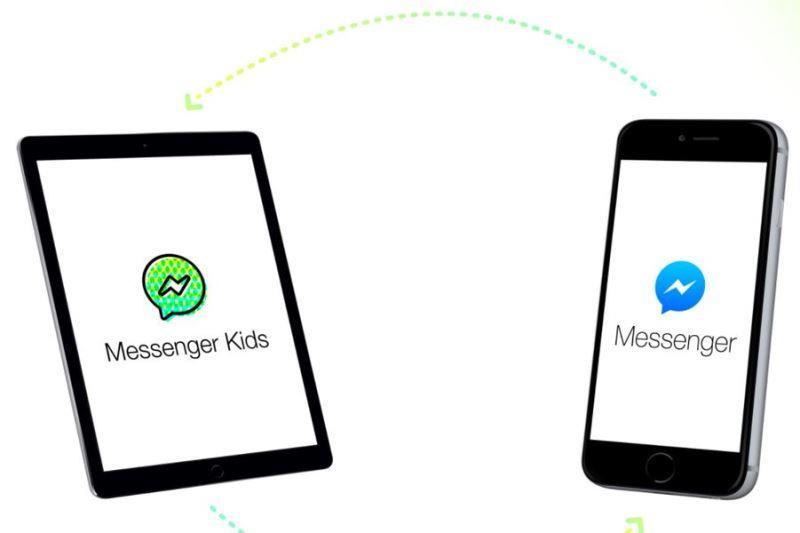 社群網站臉書公司4日推出旗下即時通訊應用程式Messenger的兒童版本,目的是讓12歲以下的孩童能在家長監督下與其他人聯繫。(圖取自Messenger Kids網站messengerkids.com)
