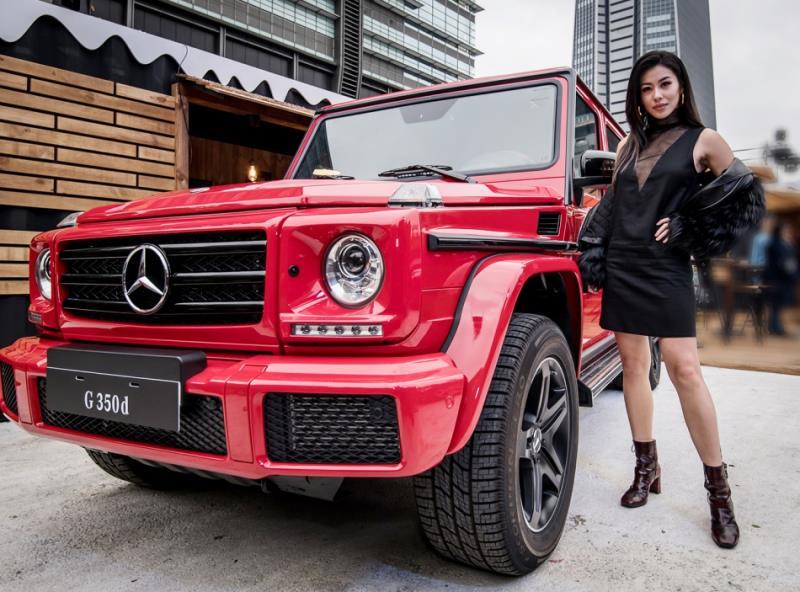 Mercedes-Benz信義商圈極限越野體驗