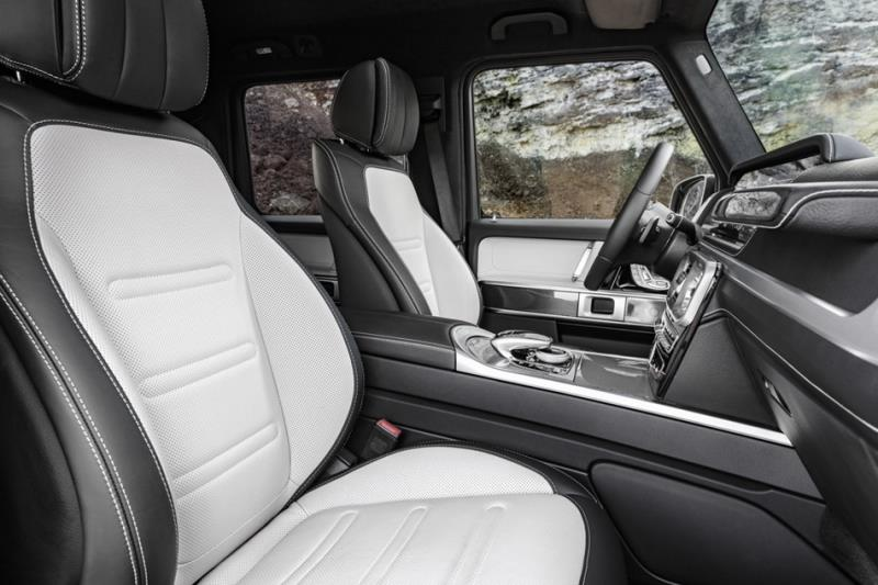內裝豪奢、空間更放大 2019 Mercedes-Benz G-Class