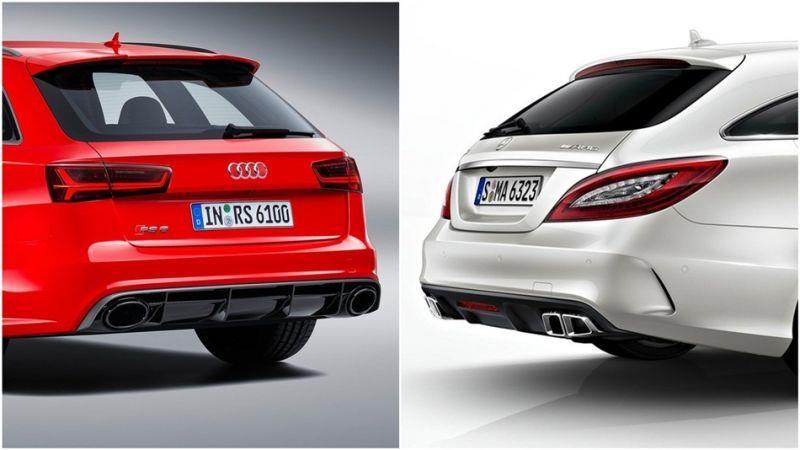 改裝加速對決 Mercedes CLS 63 GAD強取Audi RS6 APR