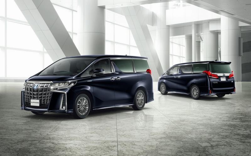 Toyota Alphard豪華、安全改款新選擇