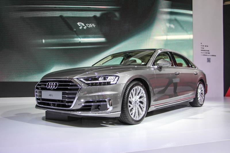Audi總計訂單為107張,其中預接單的A8佔了15部。