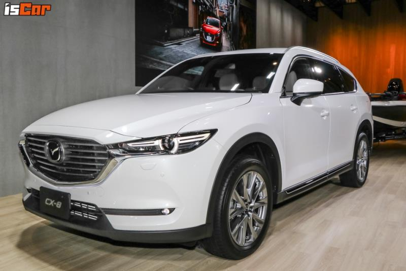Mazda CX-8 東京改裝車展現場直擊