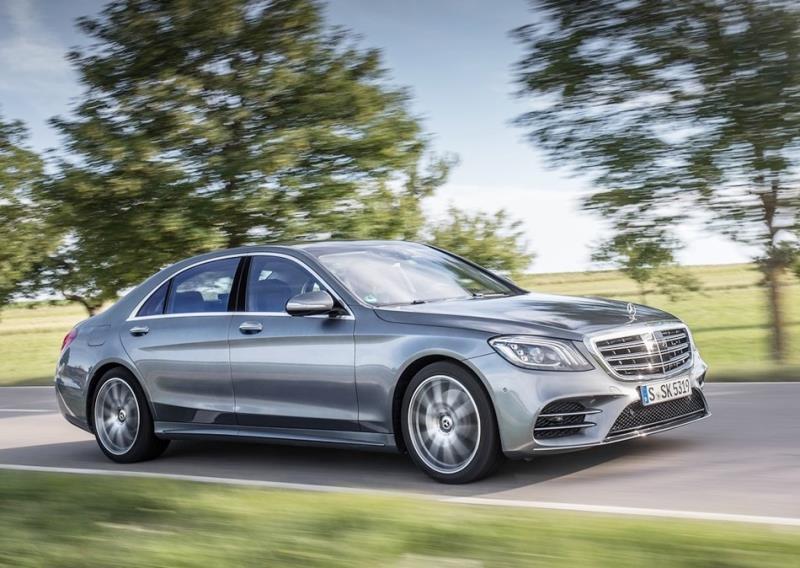 豪華行宮Mercedes-Benz S-Class大改款