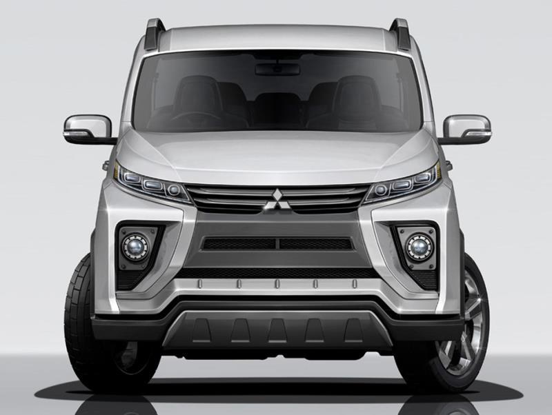 Mitsubishi 新世代 Delica 測試車捕獲  7 月正式發表