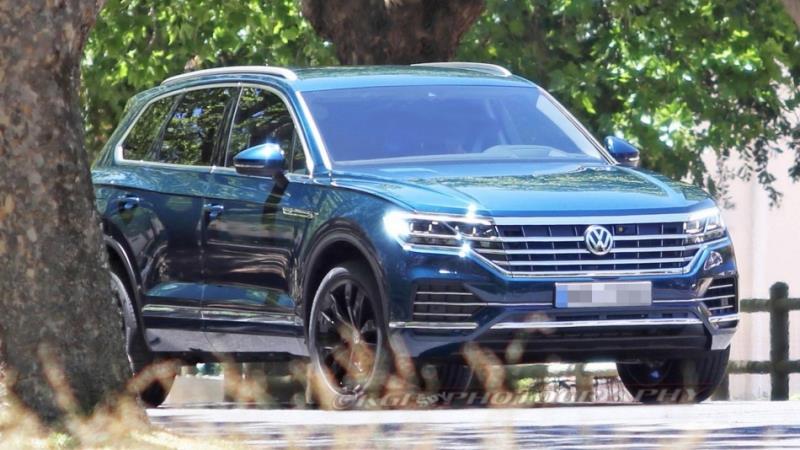 VW 全新第三代 Touareg 預告3月北京發表