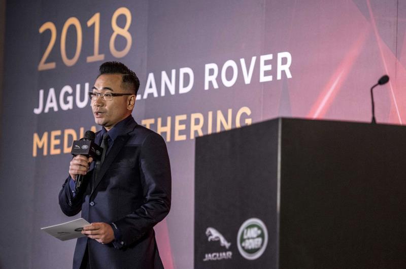 Jaguar Land Rover Taiwan總裁曹耀中。