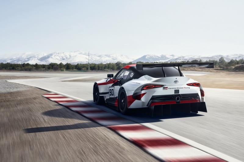 Toyota GR Supra Racing Concept賽事姿態預覽現實