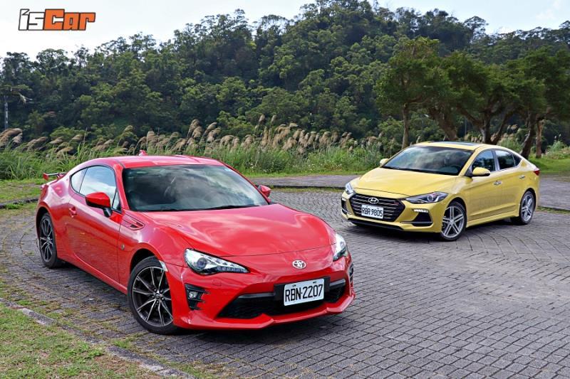 Hyundai Elantra Sport x Toyota 86手排【怎樣好玩篇】