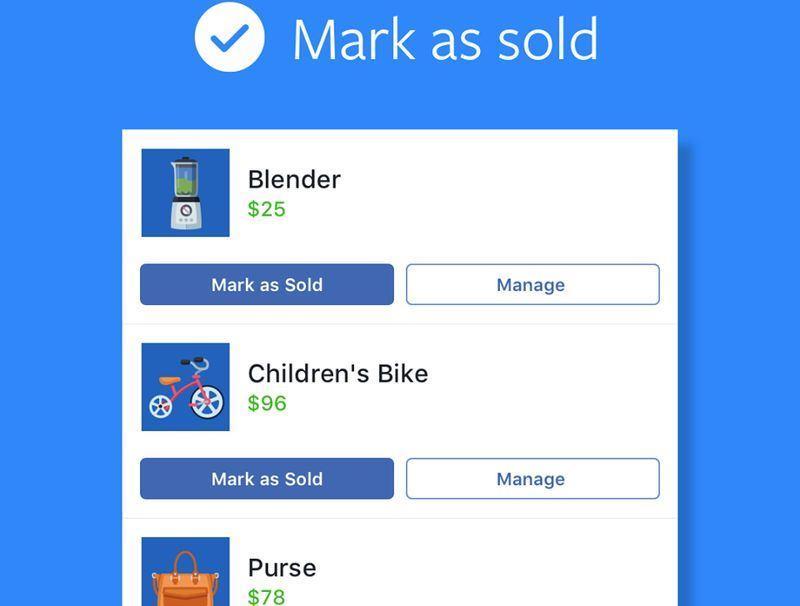 Facebook 12日宣布在台灣推出Marketplace功能,透過簡易步驟即可完成商品刊登。(圖取自Facebook Marketplace Community臉書www.facebook.com/fbmarketplace)