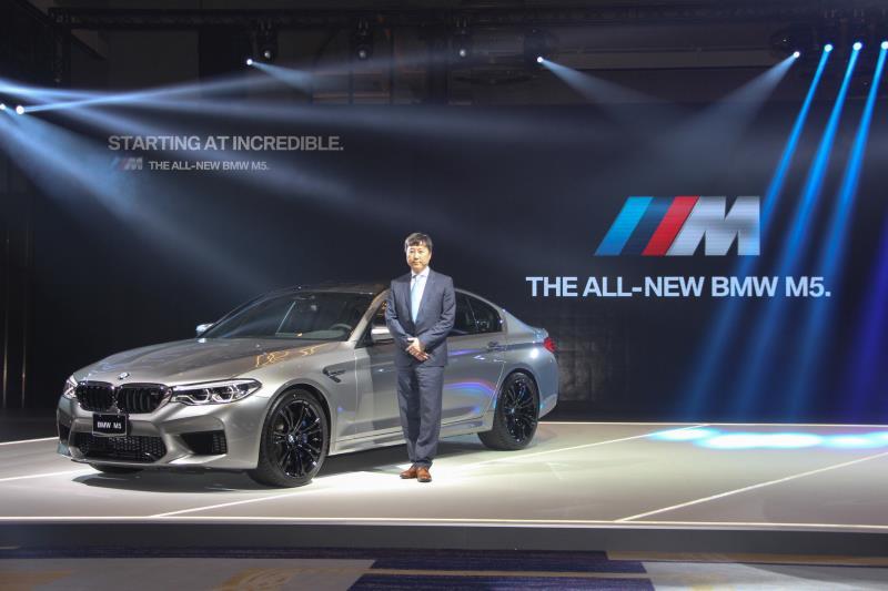 BMW總代理汎德公司在27日宣布全新第六代的M5正式在台上市。
