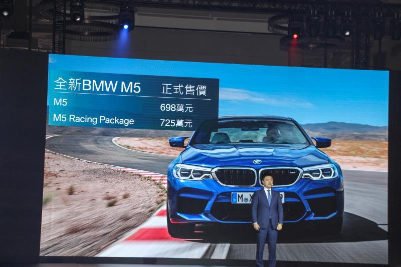 BMW總代理汎德公司針對全新第六代的M5開出雙車型698萬起的售價。