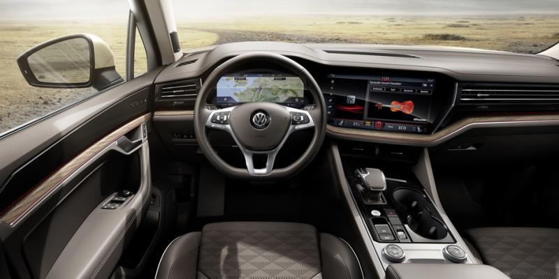 Volkswagen第三代Touareg內外兼修、坐擁旗艦姿態