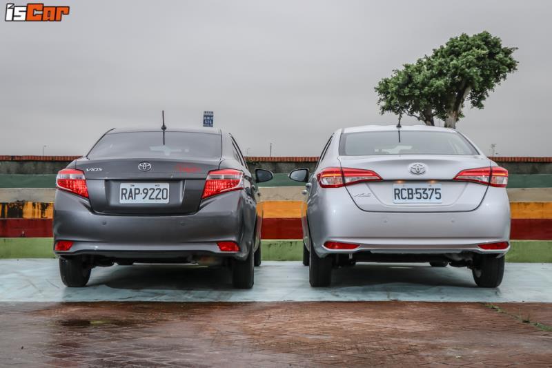 Toyota Vios 豪華版【新舊對照篇】