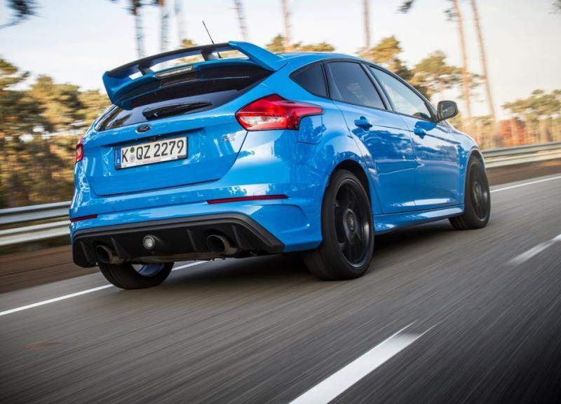Ford Focus RS新一代性能鋼砲 48V Mild-Hybrid系統加持