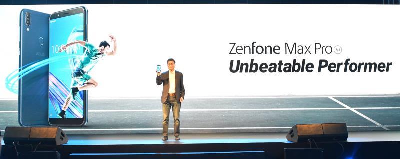 華碩執行長沈振來4/23率領團隊前往印度新德里發表全新大電量智慧手機ZenFone Max Pro