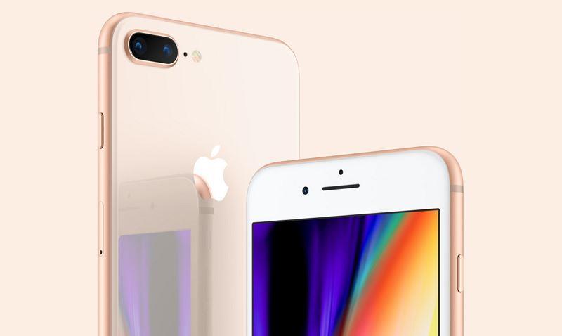 蘋果新款iPhone售價市場關注。外媒引述報導,今年新LCD版iPhone價格可較OLED版減少200美元。圖為iPhone 8。(圖取自蘋果公司網頁apple.com)