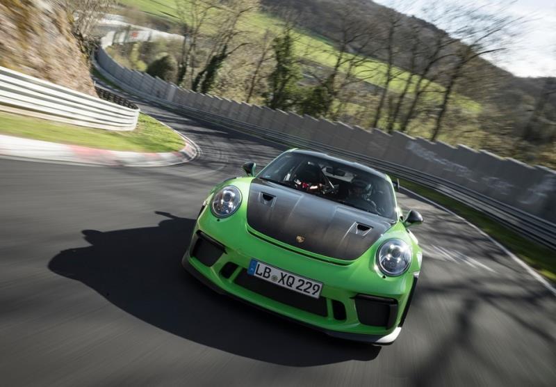 Porsche 991.2 GT3 RS底盤大幅精進