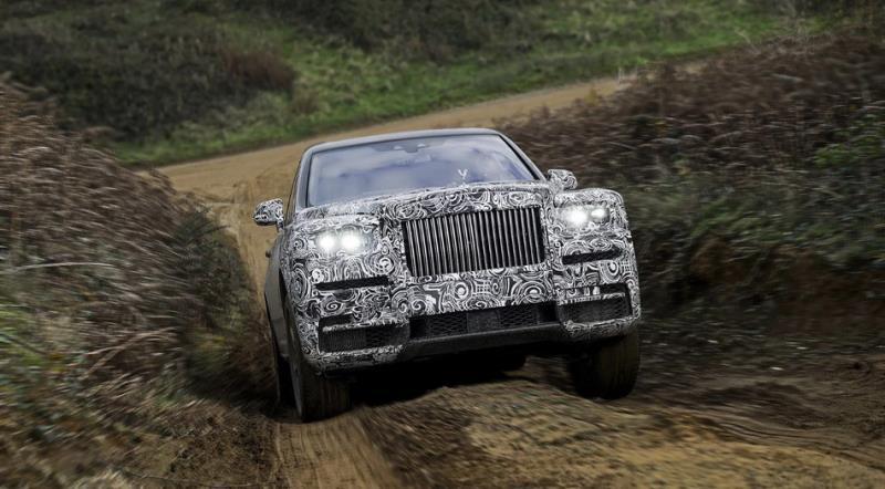 Rolls-Royce Cullinan預約5月10日強襲SUV市場