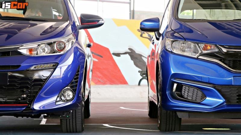 Toyota Yaris x Honda Fit 《動力操控篇》