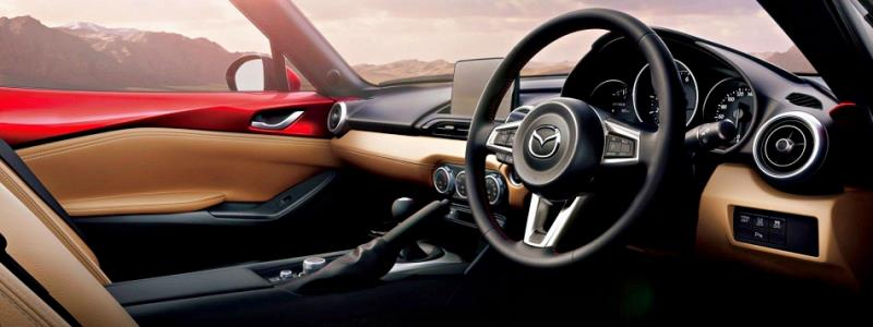Mazda MX-5 RF日本新規 最大馬力184ps