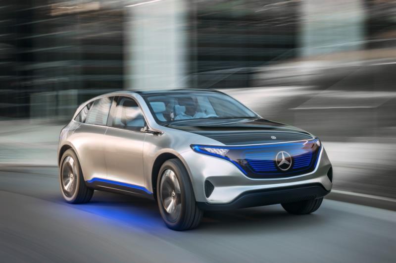 Mercedes-Benz EQC 南歐測試