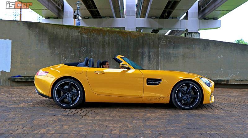 Mercedes-AMG GT Roadster 關蓬雨駕超有感