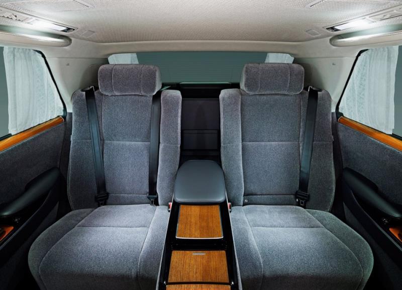 Toyota三代Century登場  主動安全全面導入