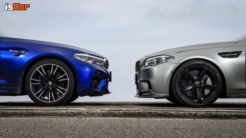 BMW F90 M5 x F10 M5 Jahre30對決【四驅、後驅樂趣篇】
