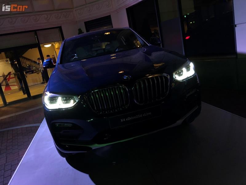 改款BMW X4 M40d/xDrive30i 美國斯帕坦堡速報